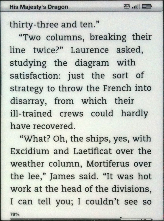 Justification error